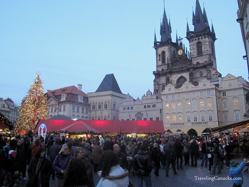 Christmas Market in the Old Town Square - Prague