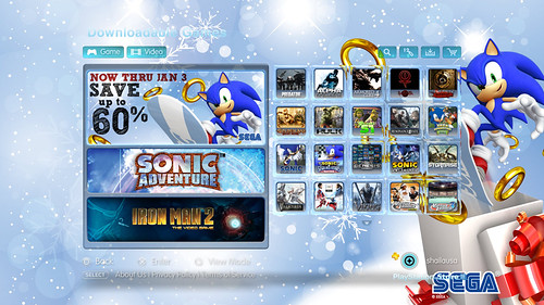 PlayStation Store - SEGA Category