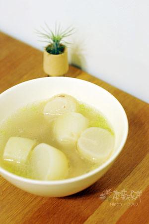 白玉蘿蔔排骨湯