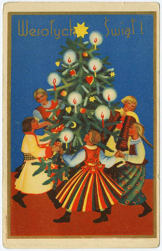 015-Feliz Navidad-Exposicion de pintores editada en Polonia-sin fecha-NYPL