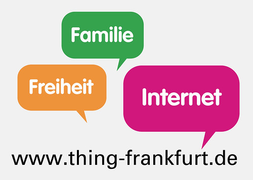 Thing Postkarte Familie Freiheit Internet 2009