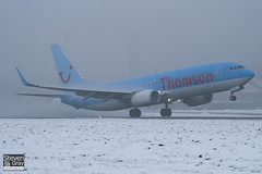 G-FDZS - 35147  Thomson Airways - Boeing 737-8K5 - Luton - 101222 - Steven Gray - IMG_7267