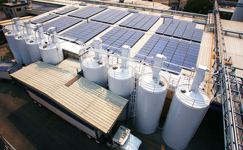 Sierra Nevada Brewing Co's Solar Panels