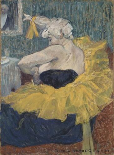Clownesse Cha-U-Kao, Henri de Toulouse-Lautrec,  1895