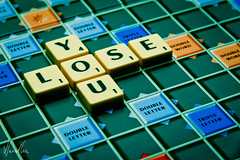 YOU  LOSE (Vikdaddy) Tags: you board games scrabble letter lose