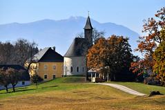Ossiacher Tauern mit Kirche