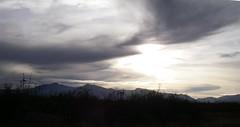 Sunset; 20101226, Sierra Vista, Arizona (tofightfortheright) Tags: arizona remember az roadsidememorial tribute caraccident remembering roadsidememorials roadsidecrosses roadsidecross caraccidentmemorial kb9vghkatyconnell