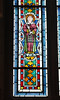The Gothic Chapel:  Stained Glass Panel with Saint Lawrence (peterjr1961) Tags: newyorkcity newyork art europe medieval themet metropolitanmuseumofart thecloisters eurpoean medievaleurope