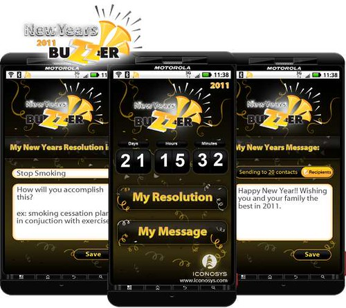 New Year\'s Resolution Comes to the Android