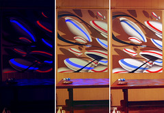 variations (mrzero) Tags: graffiti 3d hungary uv eger spray fluorescent spraypaint job commission zero cfs mrzero coloredeffects