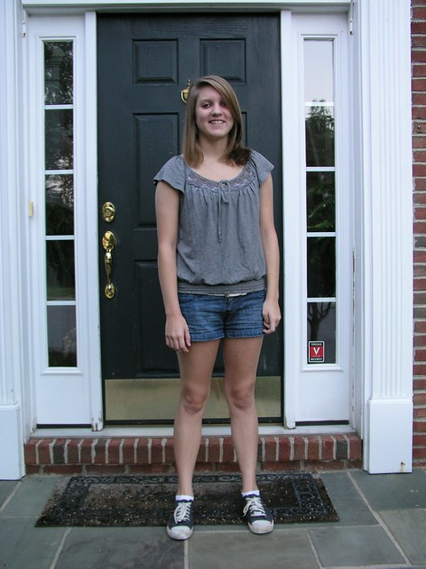 First day of Junior year of high school