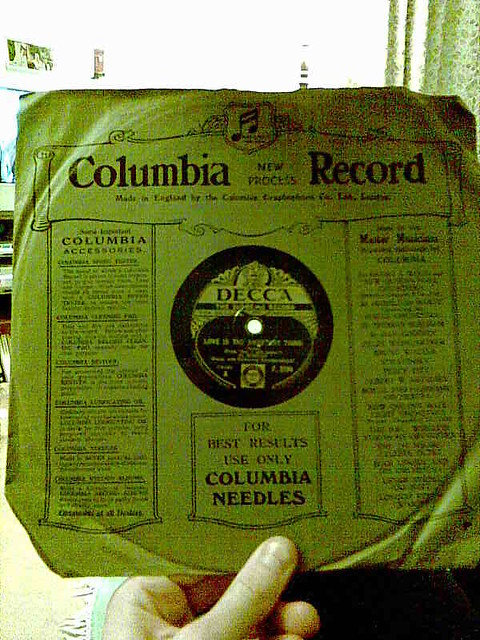 very old record