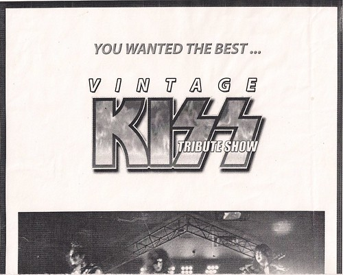 12/30/05 Vintage Kiss @ Prime Time, Burnsville, MN (Poster 2 - Top)