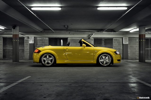 For Sale 2003 Imola Yellow Audi Tt Quattro Roadster