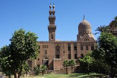 Qanibay Al-Sayfi Mosque (Amir Akhur) (Seb & Jen) Tags: africa minaret muslim egypt mosque cairo mosquee egypte islamic afrique musulman lecaire islamique