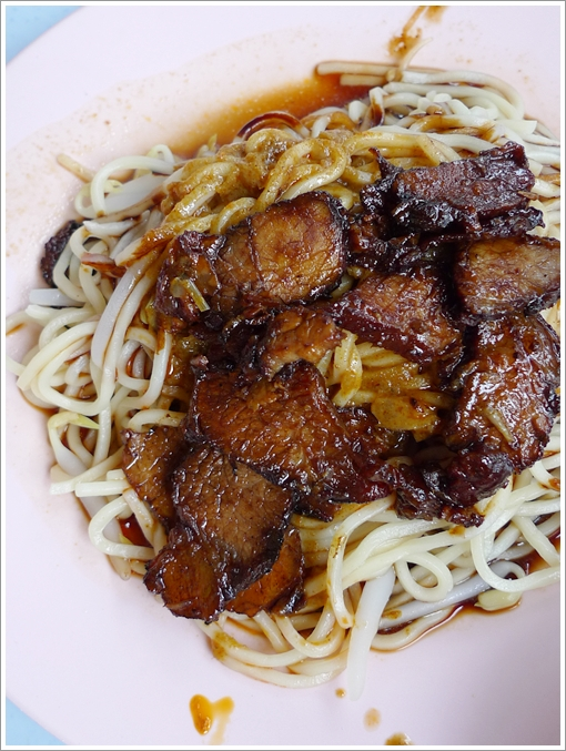 Dry Curry Mee with Char Siew