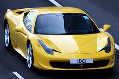 "Ferrari 458 Italia  ""IDCI"" (Daryl Chapman Photography) Tags: yellow canon hongkong italia ferrari 7d causewaybay yellowferrari 458 100400l worldcars idci"