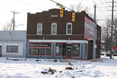 Rosner Building in 2010 in Speedway, IN