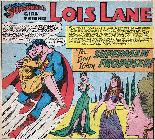 Lois Lane #22 splash panel