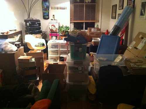 January 2, 2012, day 2 of packing
