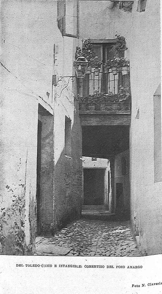 Cobertizo del Pozo Amargo hacia 1931, Fotografía de Narciso Clavería para la Revista Toledo (1931)