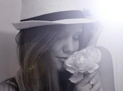 Rose (Mia Rendum) Tags: selfportrait girl sunflare