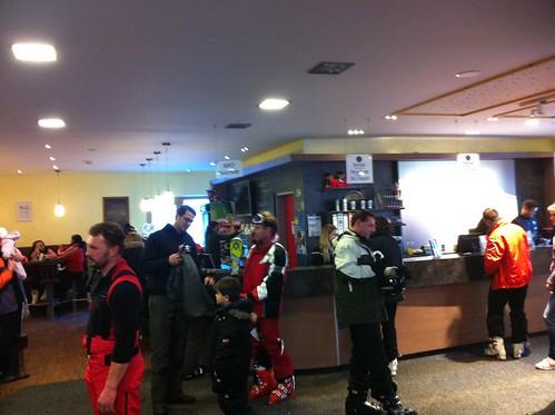 In der Skischule Garmisch-Partenkirchen