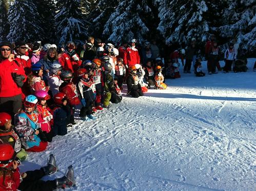Siegereherung Skischule Garmisch-Partenkirchen
