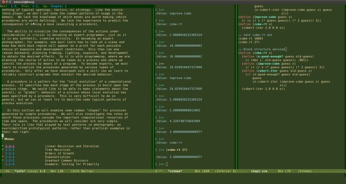 SICP with Emacs