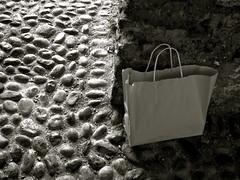 whose is this bag? (fabry ... ) Tags: blackwhite fabrizio bianconero abigfave circolofotograficopaullese ricohgx200