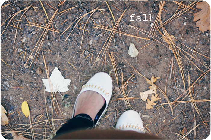 fall feet blog