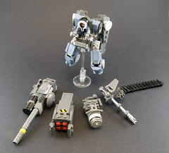 AVM-09: Weapon Array (Titolian) Tags: lost robot jump lego space weapon future planet standard array mech variant boosters avm