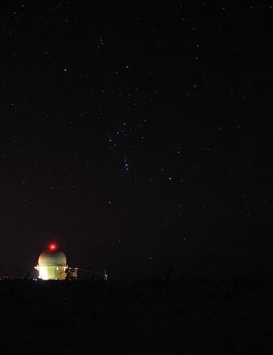 Orion and Radar