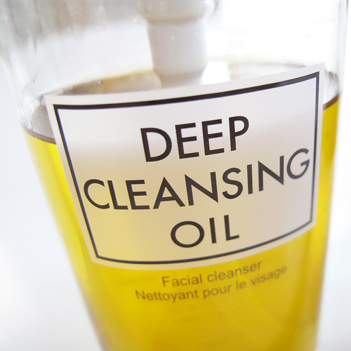 DHC Deep Cleansing Oil: Like I said I didn't start washing my face until