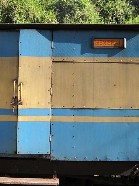 Blue Nilgiri Mountain Express carriage