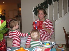 I enjoy their accordian (helenjane) Tags: dottie noralea christmas2010
