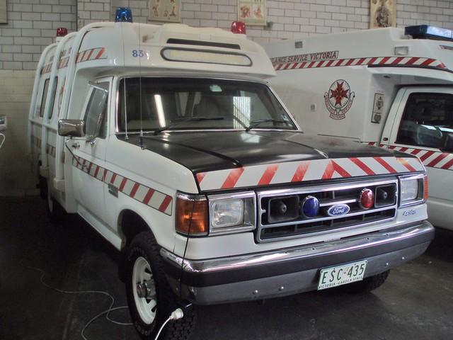 ford 4wd f150 victoria ambulance f historical series service 1992 society fseries transfield