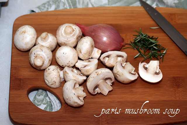 Paris Mushroom Soup - French Fridays with Dorie
