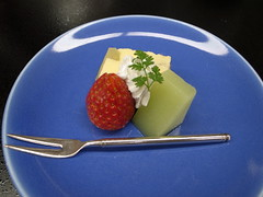 Japanese tea-ceremony dishes, sweets