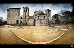 ABBAYE DE CAUNES (::YS::) Tags: panorama france sony aude eglise yann caunes minervois abbaye herault terroir savalle yasa alpha700 yannsavalle