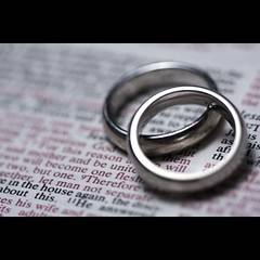 Mark 10:6-9 (ANVRecife) Tags: wedding macro love canon couple friendship bokeh mark faith band marriage ring bible concept monday weddingring partnership complicity weddingrings verse weddingband vallejos creativephoto 40d creativeconcept conceptphotos macromondays anvrecife mark1069