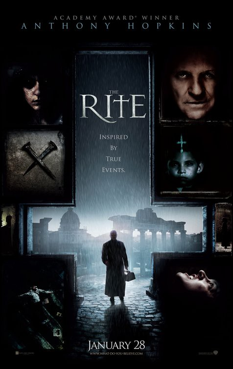 The Rite film poster