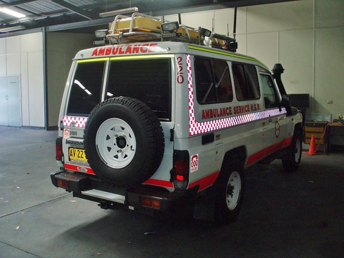 2008 Toyota LandCruiser 78 series Troopcarrier Workmate ambulance