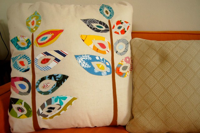 sew liberated pillow