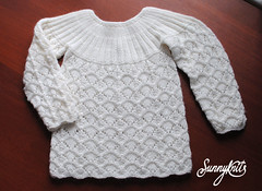 Ажурная кофточка Baby lace pully