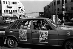 Ramallah car (Dan Uneken_) Tags: street car israel palestine westbank ramallah  arafat yasser    abuammar   palestinianoccupiedterritories marwanbarghouti