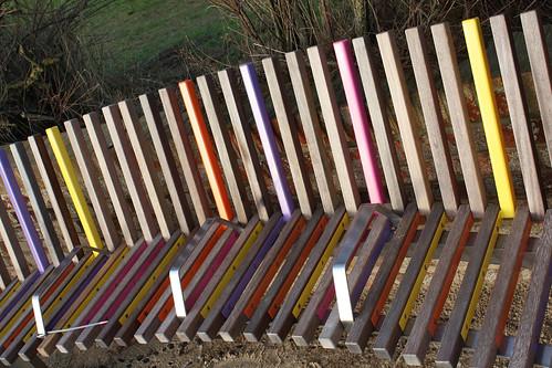 Long Bench at an angle