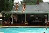 Jumping In (wmliu) Tags: roof wedding girls party people usa pool us newjersey jump backyard nj wmliu