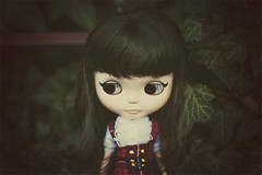 The new Matine! (akatrya) Tags: outfit doll dress change blythe tartan fts td scalp matine somedoll