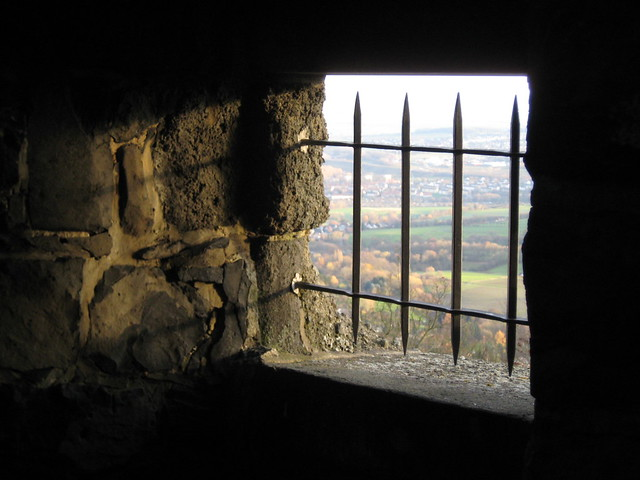 Im Bismarckturm auf dem Brasselsberg